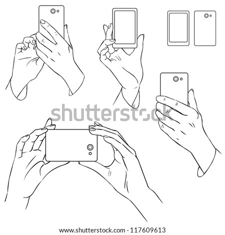 Mobile Gestures Stock Photos, Images, & Pictures