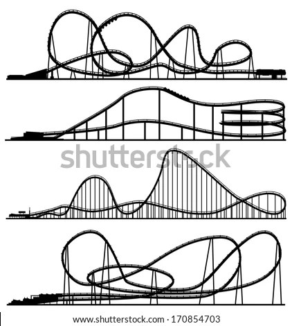Roll Roller Coaster Coloring Pages Coloring Pages