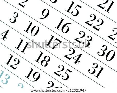 Calendar Page Stock Photos, Calendar Page Stock
