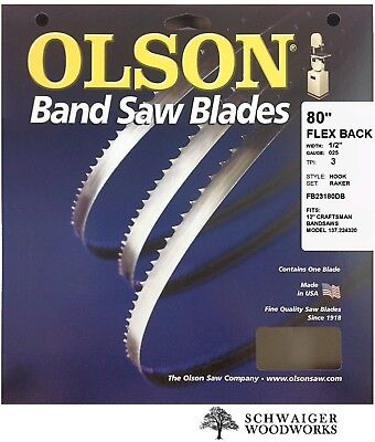 What Size Blade For Craftsman 10 Bandsaw