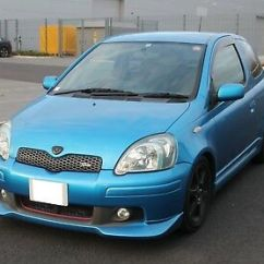 Toyota Yaris Trd Turbo Grand New Veloz 1.5 Mt 2018 T Sport Zeppy Io 2003 Vitz 1 5 Rs Fresh Import Blue 3 Door Starlet
