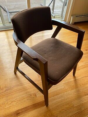 wh gunlocke chair low back beach chairs 9 or less zeppy io set of 3 vintage mid century modern 1970s arm w h
