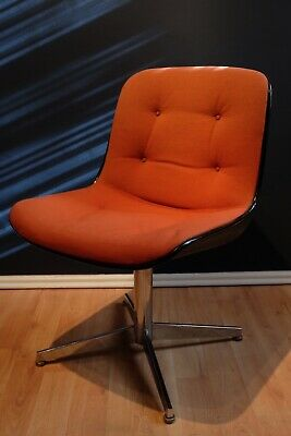 orange bucket chair covers for loveseat vintage zeppy io 60 70s