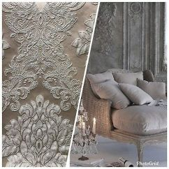 Brocade Sofa Fabric Childrens Chair Upholstery Damask Zeppy Io Swatch Designer Satin Gray On