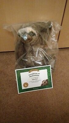 neal sofaworks teddy tribeca sofa crate and barrel zeppy io little sloth toy certificate bnip discontinued rare