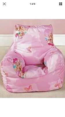 barbie bean bag chair luxury high covers zeppy io fairytopia cover pink bnwt