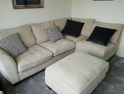 furniture village leather corner sofa bed sears canada sectionals sofas zeppy io and footstool