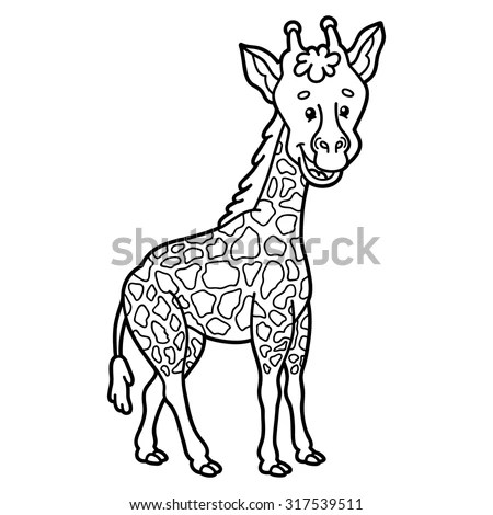 Moose Coloring Page Adults Zen Tangle Stock Vector