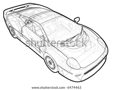 Car Schematic Stock Images, Royalty-Free Images & Vectors