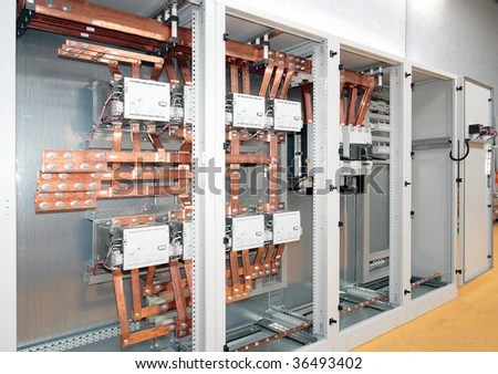 3 Phase Panel Board Wiring Diagram Switchboard For Electric Industrial Control And