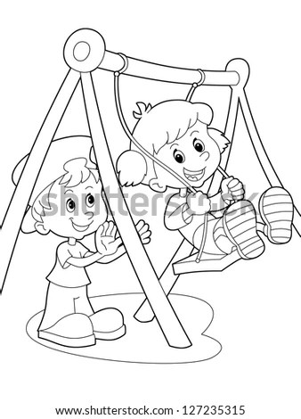 Coloring Page Outline Stock Images, Royalty-Free Images