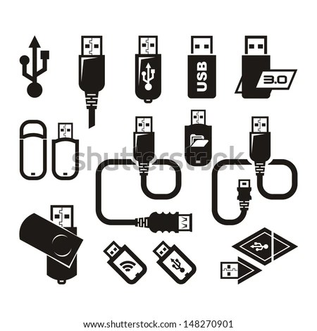 Usb Symbol Stock Images, Royalty-Free Images & Vectors