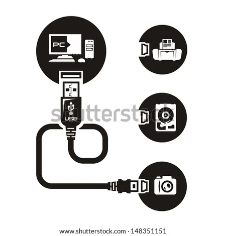 Usb Port Stock Images, Royalty-Free Images & Vectors
