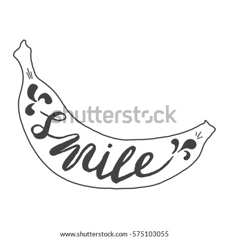 Clarinet Line Art Drawing On White Stock Vector 577667743