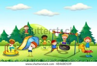 Cartoon Playground Stock Images, Royalty-Free Images ...