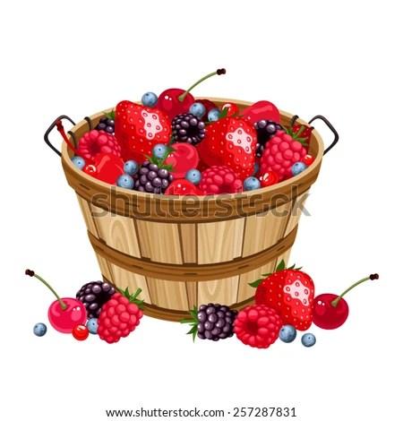 berry basket clip art cliparts