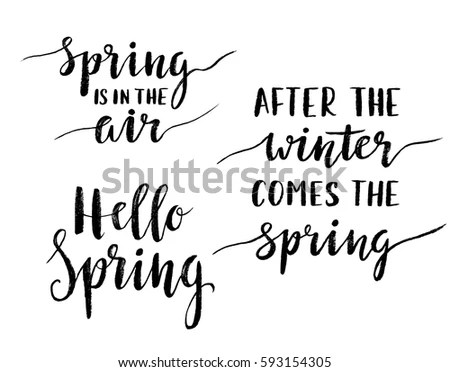 Hello Spring Stock Images, Royalty-Free Images & Vectors