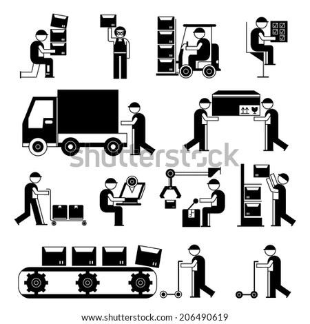 Cartoon Factory Stock Images, Royalty-Free Images