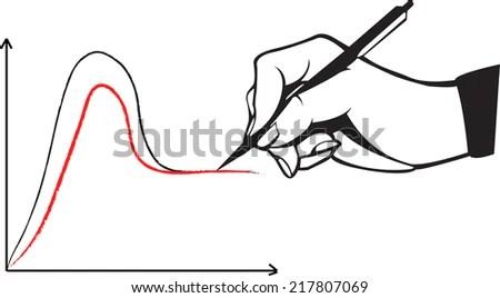 Hand Pen Drawing 4m Factor Chart Stock Vector 212330032