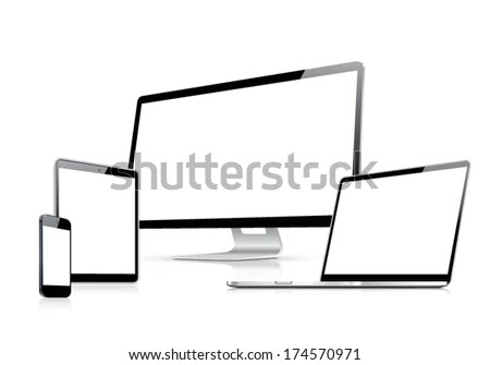 Tablet Smartphone Laptop Stock Photos, Images, & Pictures