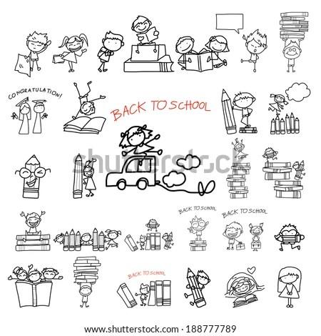 Kid-reading-kid Stock Vectors, Images & Vector Art