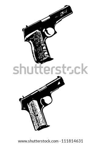 Gun Drawing Stock Images, Royalty-Free Images & Vectors