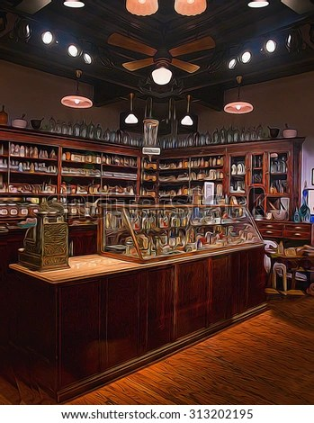 Old Fashioned Pharmacy Stock Images RoyaltyFree Images