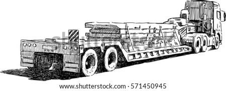 Train Steam Locomotive Illustration Vintage Style Stock