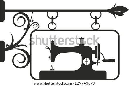 Vintage Sewing Machine Stock Photos, Images, & Pictures