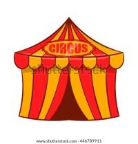 Circus Tent Icon Cartoon Style Stock Vector 437942023 ...