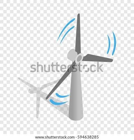 Wind Turbine Isometric Stock Images, Royalty-Free Images