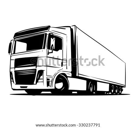 Semi-trailer Stock Photos, Royalty-Free Images & Vectors