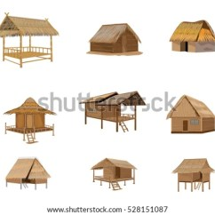 Roofing Terms Diagram Grasshopper Insect Straw Roof Hut Vector Design Stock 528151087 - Shutterstock
