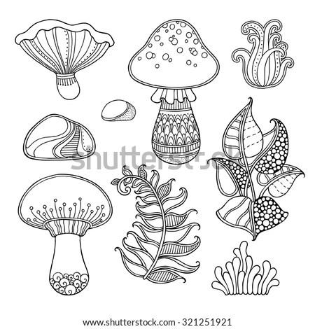 Magic Mushroom Stock Images, Royalty-Free Images & Vectors