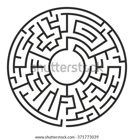 Maze Puzzle Stock Images, Royalty-Free Images & Vectors