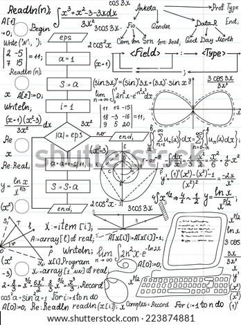 Mathematics Formula Stock Photos, Images, & Pictures