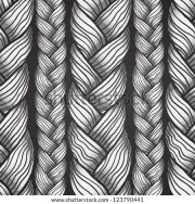 braid pattern stock royalty-free