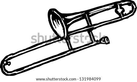Black White Vector Illustration Man Climbing Stock Vector