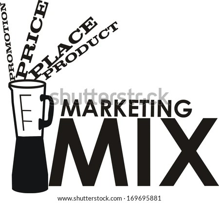 Marketing Mix Diagram, Marketing, Free Engine Image For