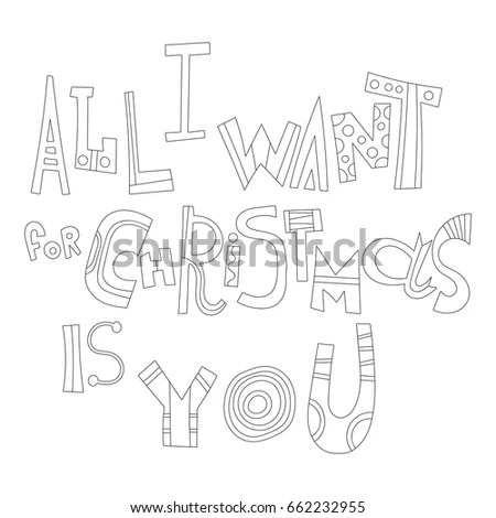 Architectural Sketched Letters Set 2 Stock Vector