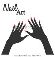 finger-nail stock royalty-free