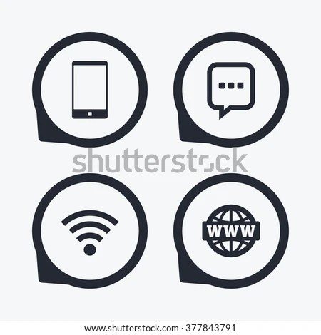 Question Answer Icon Smartphone Qa Chat Stock Vector
