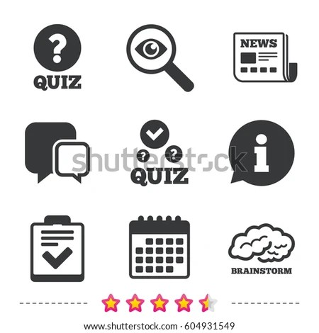 Quiz Icon Stock Images, Royalty-Free Images & Vectors
