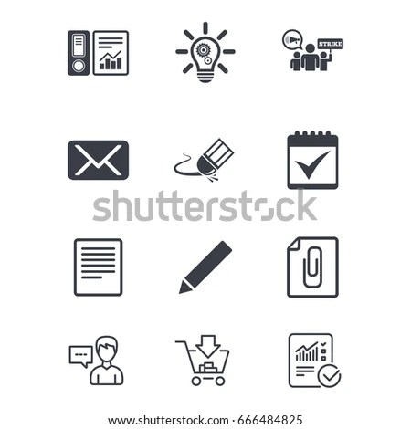 Strike Icon Storm Bad Weather Group Stock Vector 526945207