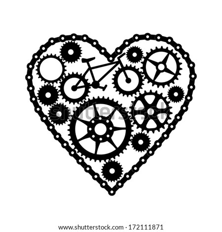 Bike Chain Coloring Pages