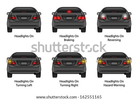 Car Indicator Stock Images, Royalty-Free Images & Vectors