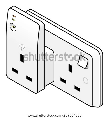 Uk Plug Socket Stock Images, Royalty-Free Images & Vectors
