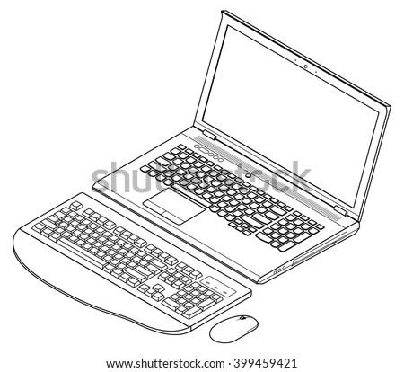 Wireless Keyboard And Mouse, Wireless, Free Engine Image