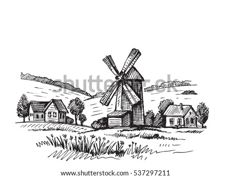 Hand-mill Stock Images, Royalty-Free Images & Vectors