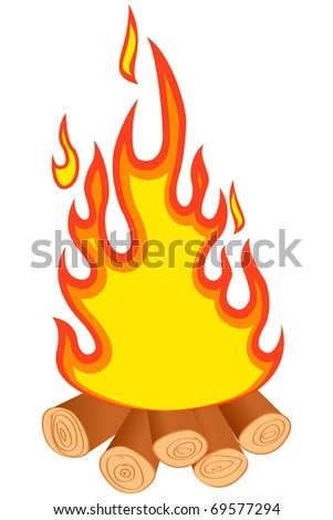 campfire fire cartoon clip art